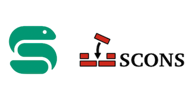 logos of Snakemake and SCons